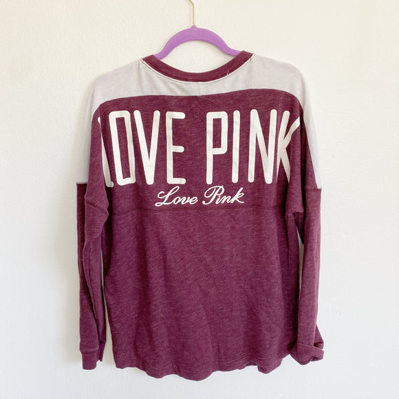 PINK by Victoria's Secret Oversized Sweatshirt Pullover M