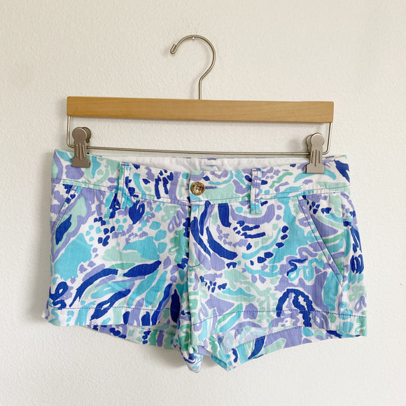Lilly Pulitzer Walsh Shorts Size 2