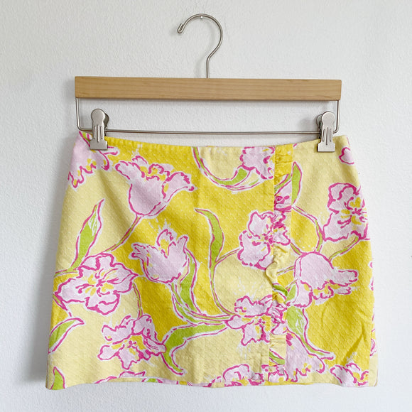 Lilly Pulitzer Hayes Skirt in Starfruit Size 2