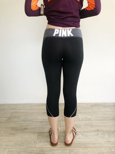 PINK Victoria's Secret Cropped Leggings XS