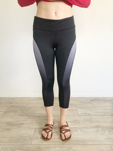 Vital Spirit Capri Cropped Leggings Medium
