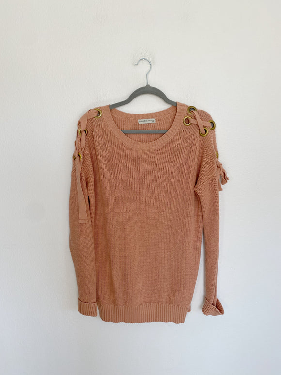 MUDO Collection Knit Sweater Medium