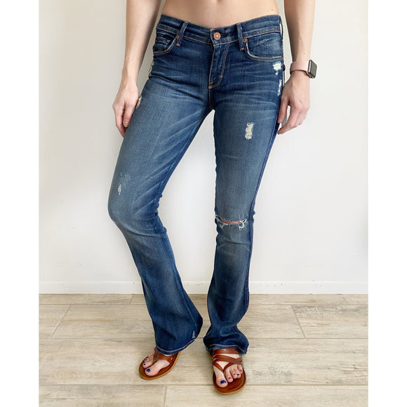 7 for all Mankind Kaylie Slim & Sexy Boot Jeans NWT 25