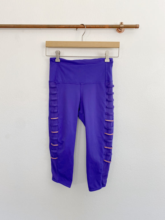 Lululemon Purple Iris Breezy Side Reflective Leggings 4