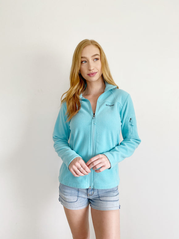 Columbia Cotton Zip Up Jacket Small