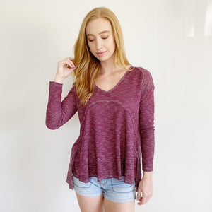 Anthropologie On The Road Henley Long Sleeve S/M