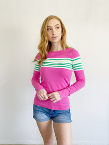 Lilly Pulitzer Marina Boating Sweater Medium