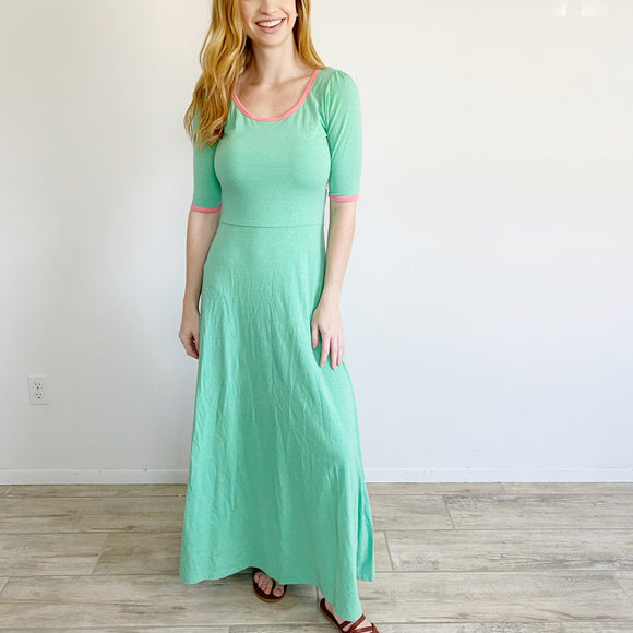 Lularoe Ana Dress NWT Small Light Green