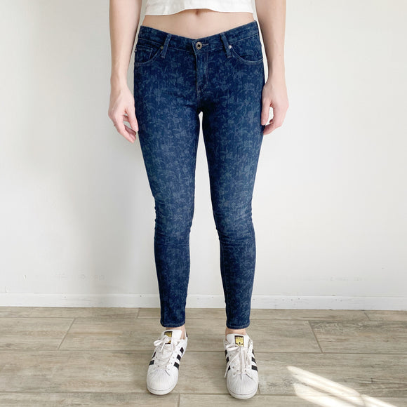 AG Adriana Goldschmied + Liberty Art Fabric Collaboration Jeans