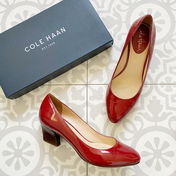 Cole Haan Patent Leather Heels 6