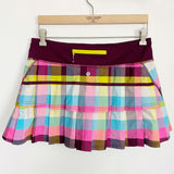 Lululemon Pace Setter Skort Sea Check Plaid