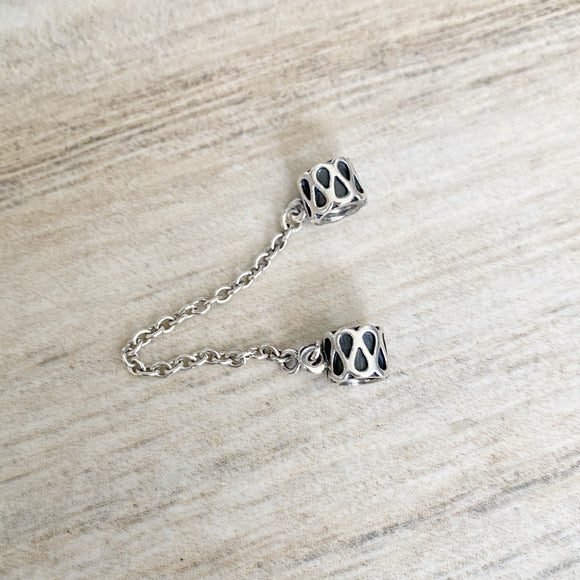 Pandora Sterling Silver Safety Chain Charm