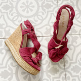 PRADA Suede Wedges 37