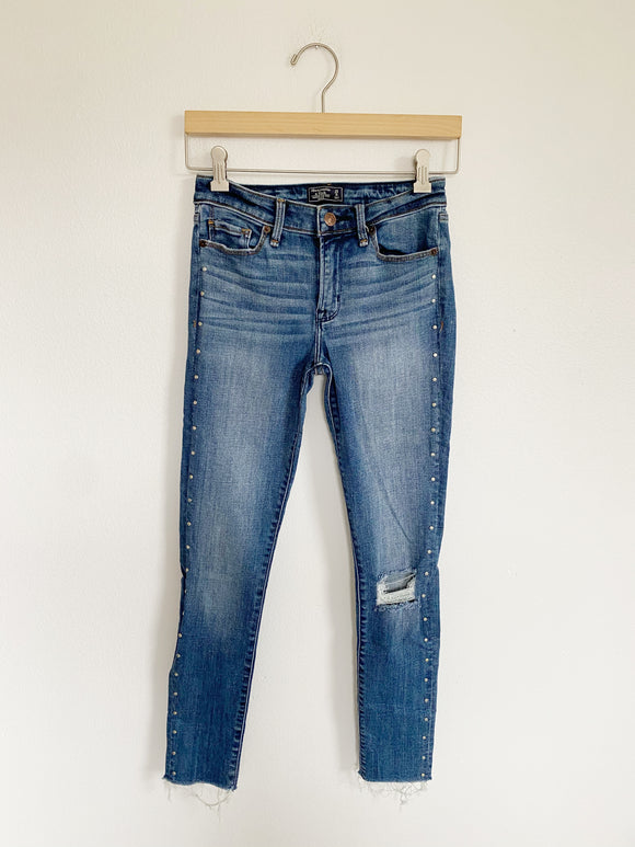Abercrombie & Fitch Harper Ankle Jeans 25 waist / 0