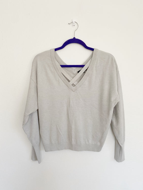 Express Super Soft V-neck Sweater Small