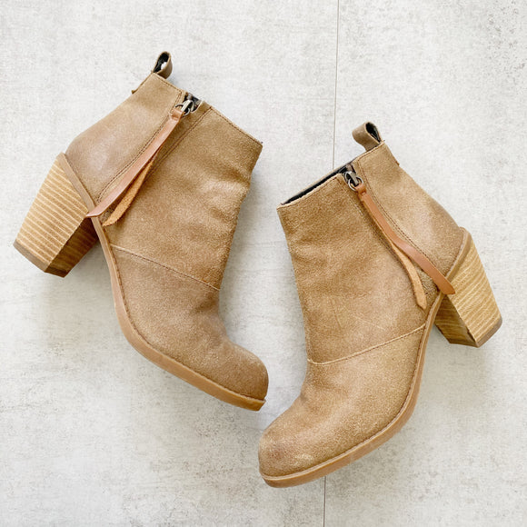 Dolce Vita Suede Booties 7.5