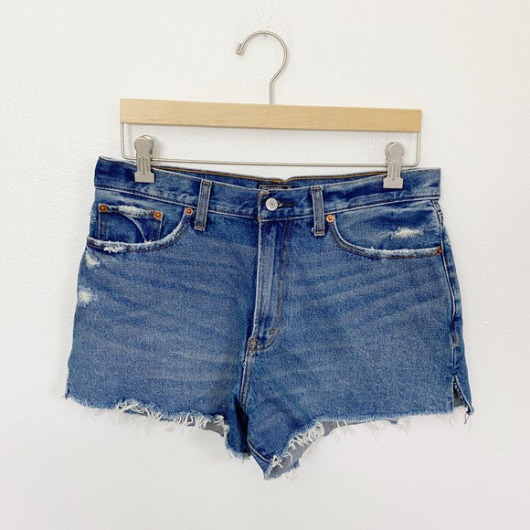 Abercrombie & Fitch Denim Jean Shorts Size 10