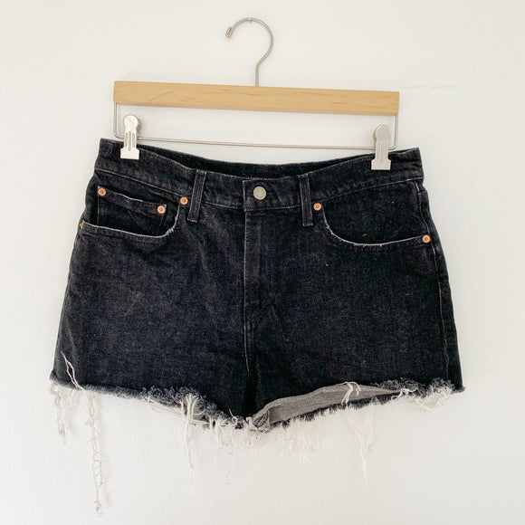 Lucky Brand The Relaxed Denim Jean Shorts 8/29