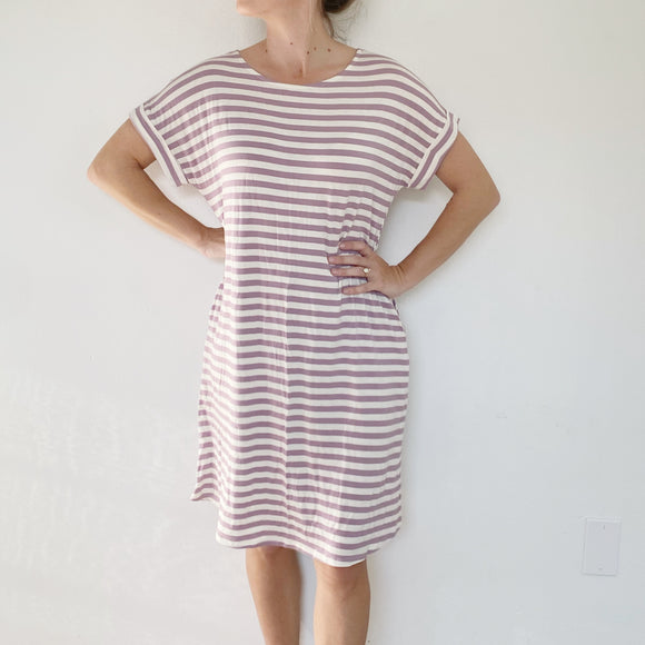 Charley's Boutique Cotton Tee Dress NWT Small