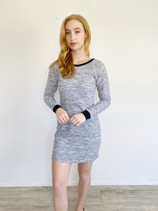 Lou & Grey Henley Long Sleeve Dress Small