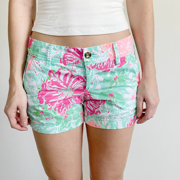 Lilly Pulitzer The Callahan Shorts Size 2