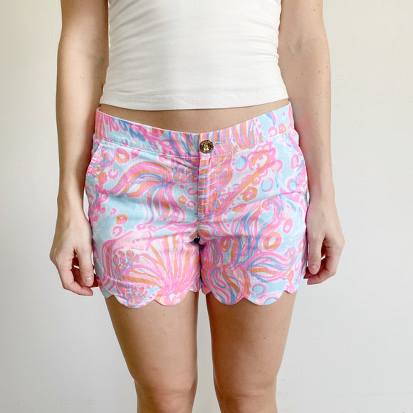 Lilly Pulitzer The Buttercup Shorts Size 2