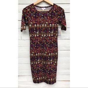 LuLaRoe Julia Dress - XXS