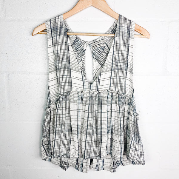 Urban Outfitters Plaid Tank - M