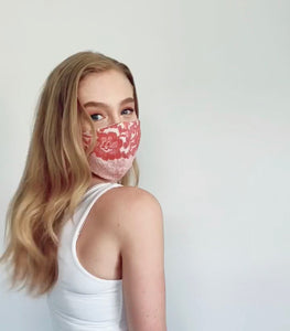 Lace Cotton Face Mask