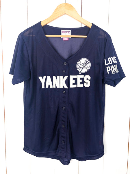 Yankees Victoria's Secret PINK Jersey Small