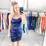 Holiday Strapless Dress - Small