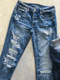American Eagle Ripped Jeans - Size 0