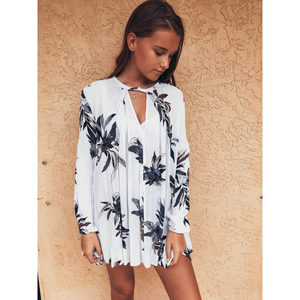 Free People Electric Swing Orchid Tunic
