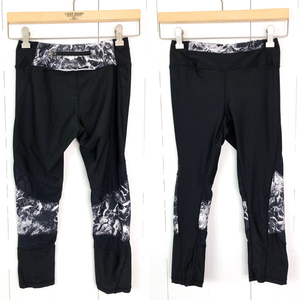 Kyodan Leggings with Mesh Bottoms Small