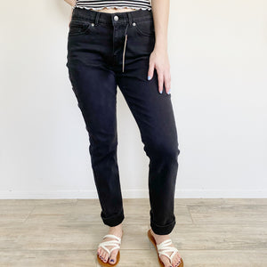 Levi's Black Classic Straight Jeans- 6 Long