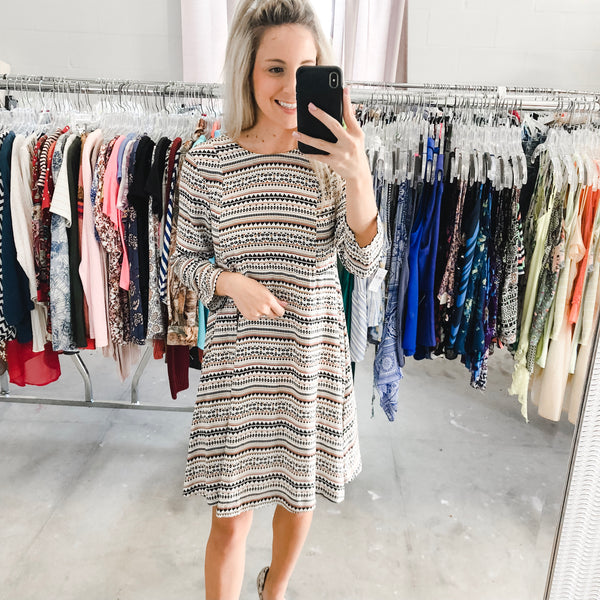 Falling for Fall Dress - 2