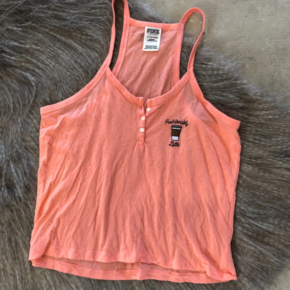PINK Tank Top- Size S