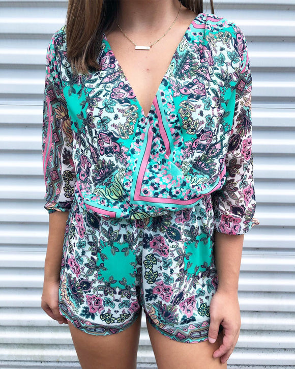 Vacation Ready Romper - S