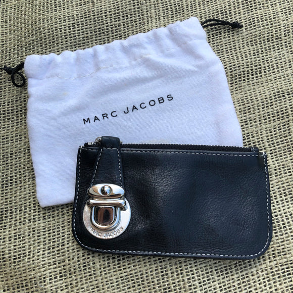 Marc Jacobs leather coin pouch