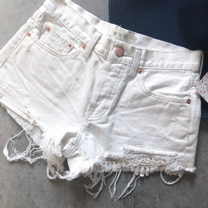 Free People White Shorts - 24