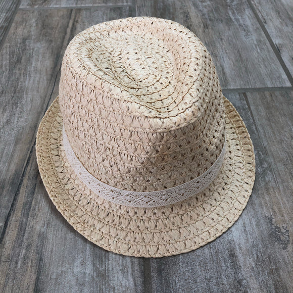 Straw Fedora Hat