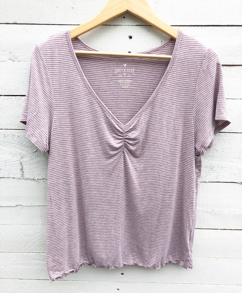 American Eagle Soft Sexy Blush Top - XL