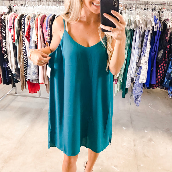 Teal Blue Tunic - XL NWT