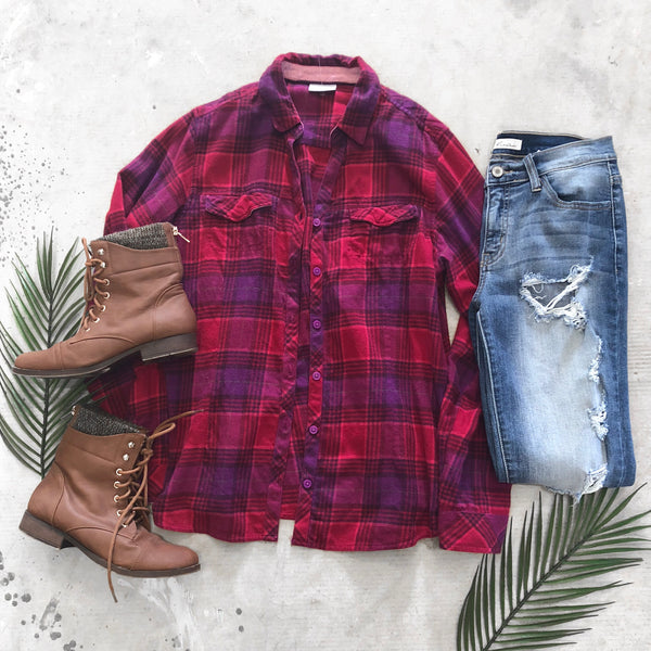 Columbia Flannel - M