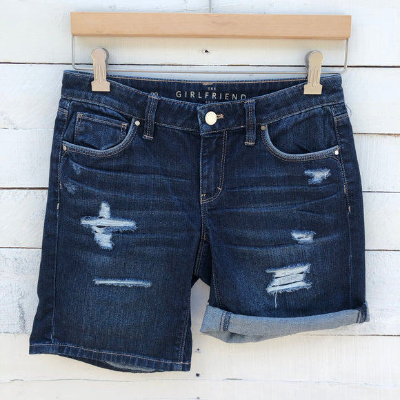 White House black market jean shorts