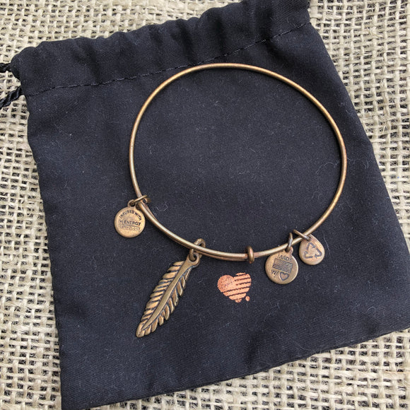 Alex & Ani Feather