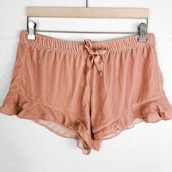 Victoria's Secret Velvet Shorts - Medium