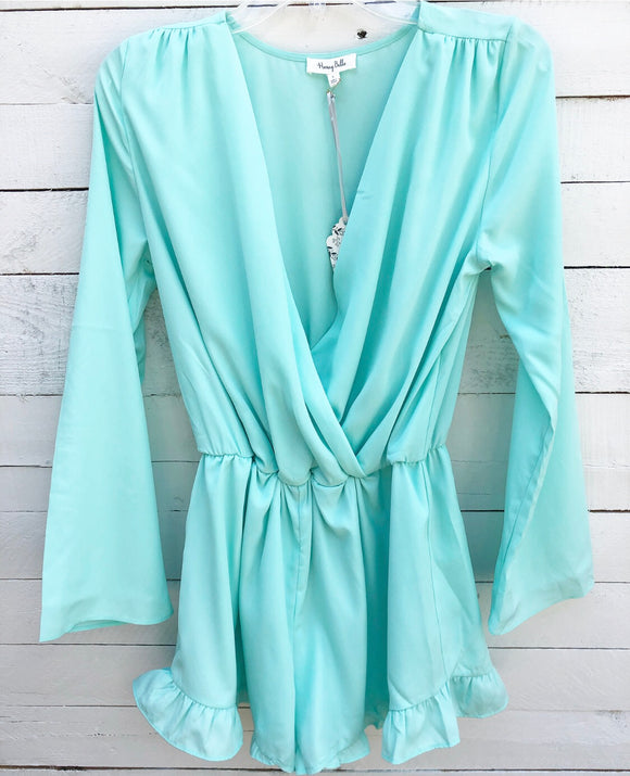 Honey Bell Romper NWT Small