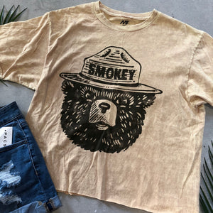 Smokey the Bear Tee - Medium