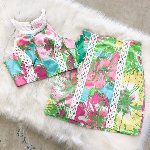 Lilly Pulitzer Vanna Two Piece Set - 00